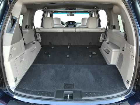 2013 Honda Pilot Interior Layout