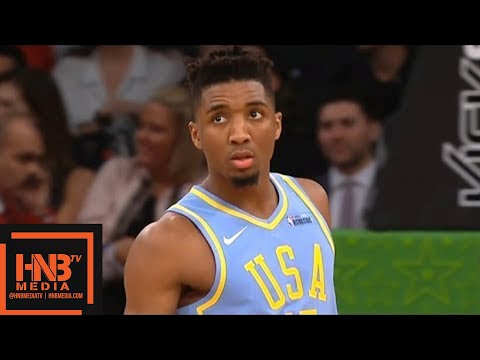 Team World vs Team USA 1st Half Highlights / Feb 16 / 2018 NBA Rising Stars Game