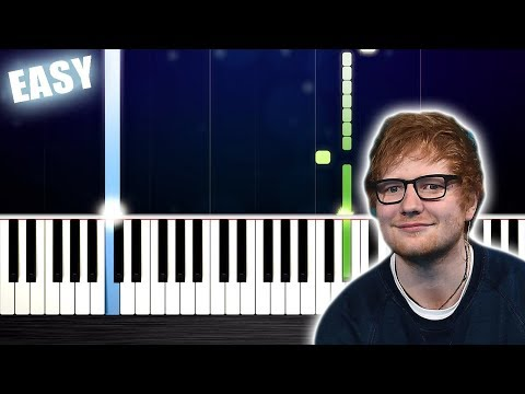 Ed Sheeran - Beautiful People (feat. Khalid) - EASY Piano Tutorial by PlutaX