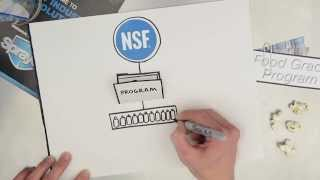 Why Sprayon® - NSF® H1 Food Grade Lubricants | The NSF® Registration