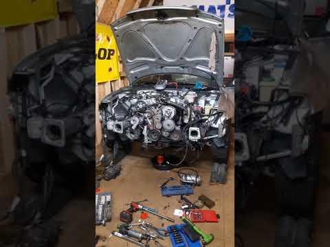 SWAP ENGINE AUDI a4 b5 1 6 - смотреть онлайн на Hah Life