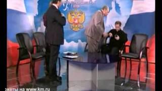 Самые знаменитые драки политиков в телеэфире