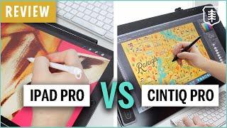 Wacom Cintiq Pro vs. iPad Pro - REVIEW 2019
