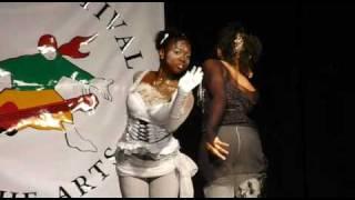 """Ying & Yang"" - Adonna Campbell & Dahelia Thomas - Anglican High School - Festival of the Arts 2010"