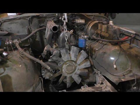 Фото к видео: УазТех - Установка om616 на стандратный УАЗ 469, ЧАСТЬ 1