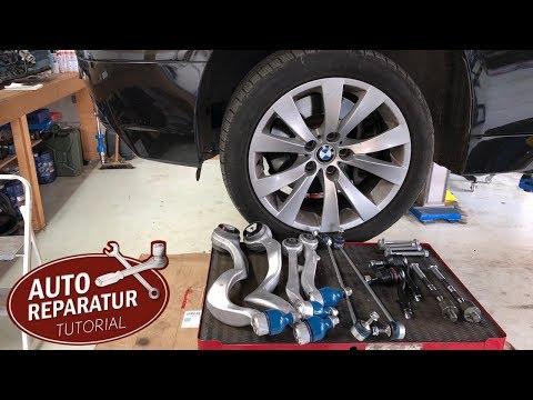 BMW Vorderachse wechseln ( Stabi, Querlenker, Spurstange)   DIY Tutorial