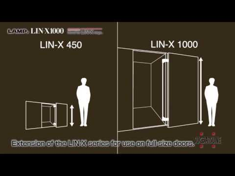 LIN-X1000 Lateral Door Opening System