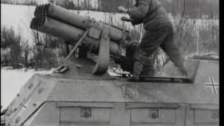 Panzerwerfer Nebelwerfer Wurfrahmen Rocket Launchers