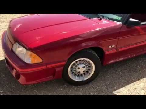 Video of '87 Mustang GT - PDD0