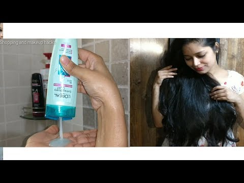 L'Oreal Paris extraordinary clay shampoo 3 days test review in Hindi a must watch video