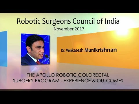 The Apollo Robotic Colorectal Surgery Program- Experience & Outcomes