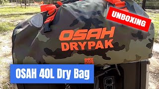 Osah Drypak 40L Motorcycle Dry Bag Unboxing & Review