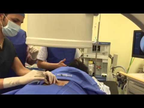 Tests mit Kniearthroskopie
