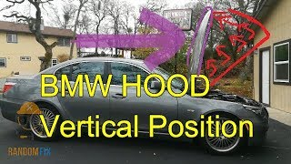 ▶️How to put your BMW Hood into a Vertical Position ▶️Gain Complete Access Under the Hood