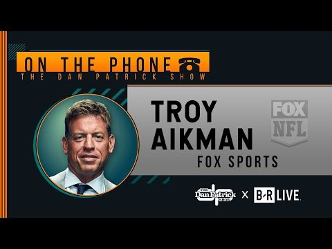 Troy Aikman Talks Eagles, Dak, Minshew, Eli & More with Dan Patrick | Full Interview | 9/23/19