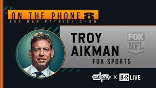 Troy Aikman Talks Eagles, Dak, Minshew, Eli & More with Dan Patrick   Full Interview   9/23/19
