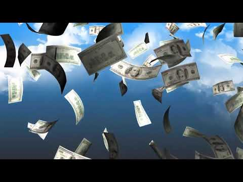 Видеофон на страницу подписки, футажи на тематику бизнес и деньги