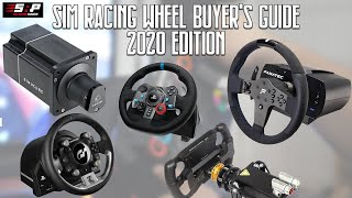 Sim Racing Wheel Buyer's Guide - 2020 Edition