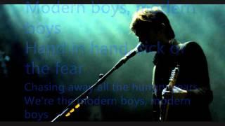 Suede - Modern Boys Lyrics