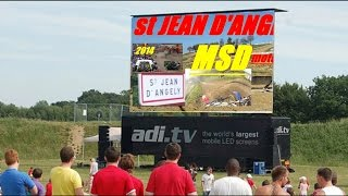 preview picture of video 'st Jean d'Angely motocross MSD2014'
