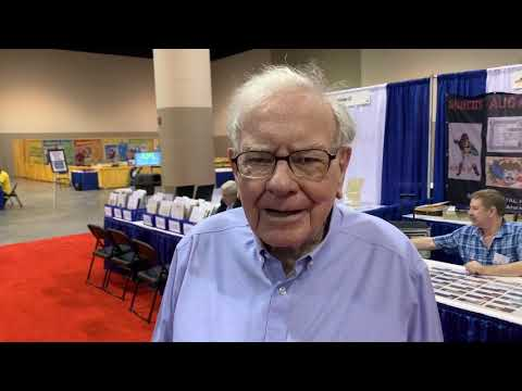 Warren Buffett at StampShow2019