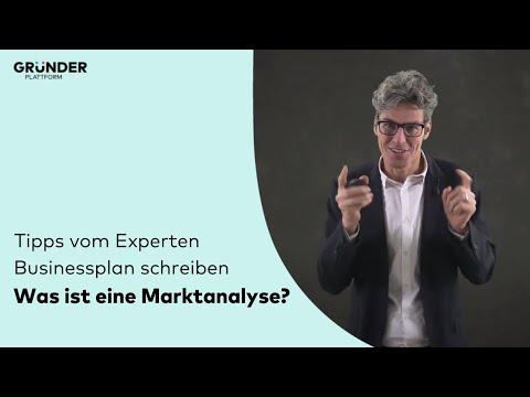 , title : 'Marktanalyse einfach erklärt! (Businessplan) - die Gründerplattform