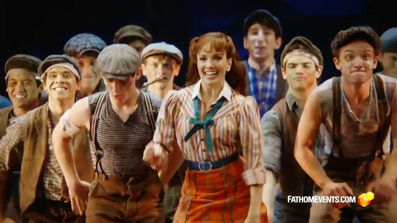 Newsies: The Broadway Musical Trailer