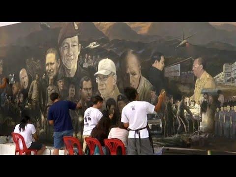 العرب اليوم - شاهد: فنانون يوثقون لحظات إنقاذ