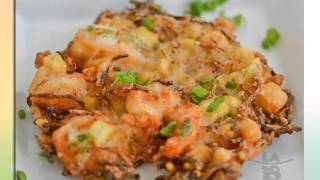 Paleo Preparation Of Shrimp Fritters (Ukoy/Okoy)