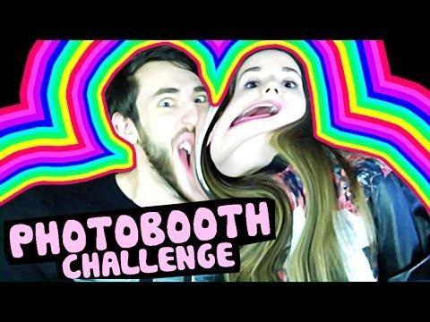 Photobooth Challenge ♦ Саша Спилберг & Паша Микус