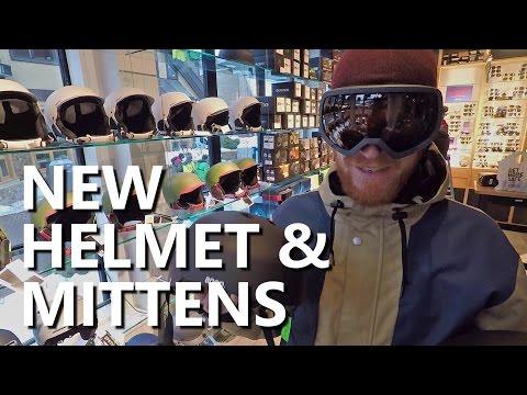 Buying New Snowboard Gear - Helmet & Mittens