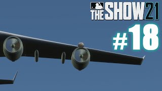 HOMER HITS PLANE ENGINE! | MLB The Show 21 | Road to the Show #18