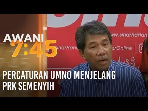 Percaturan UMNO menjelang PRK Semenyih