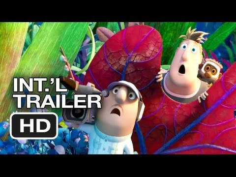 Cloudy With A Chance Of Meatballs 2 Official International Trailer (2013) HD