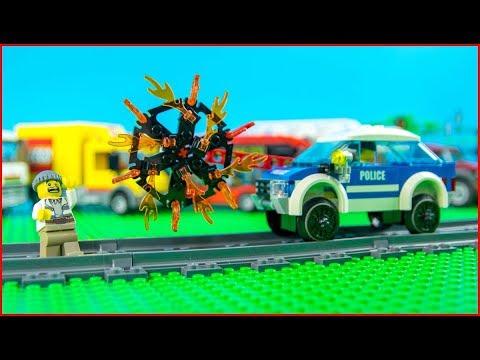 LEGO Money Fail Police Excavator Transport