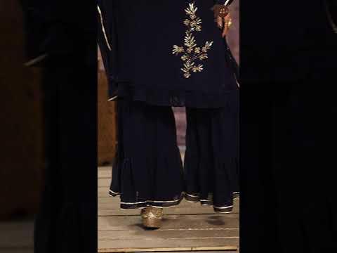 Designer Georgette Sharara Set