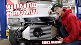 Equipping Our Minivan With a 1400Hp Intercooler!
