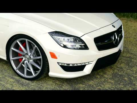 CLS 63 on Vossen Wheels