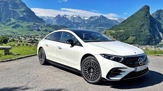 2021 Electric Mercedes S-Class Review | EQS