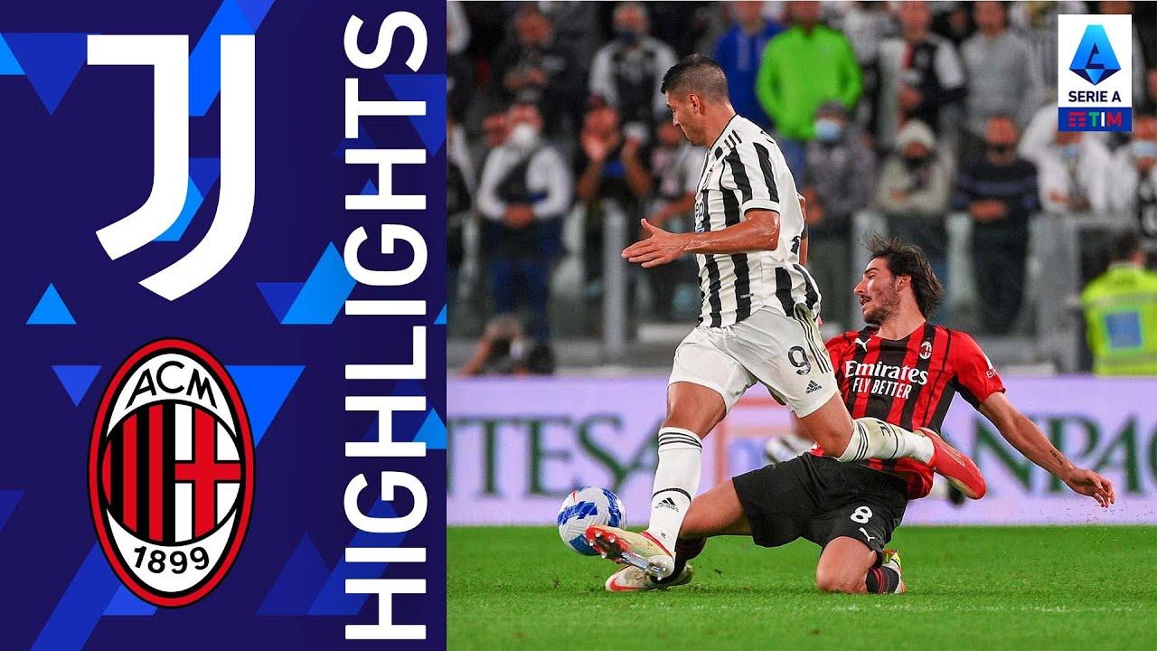 Juventus 1-1 Milan | Il big match dell'Allianz Stadium finisce in parità | Serie A TIM 2021/22