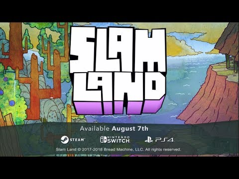 Slam Land release date trailer. Coming August 7, 2018 thumbnail