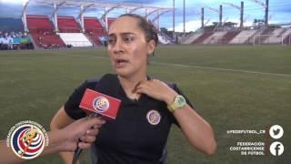 La directora técnica de LaSeleFemenina Amelia Valverde comenta la clasificación