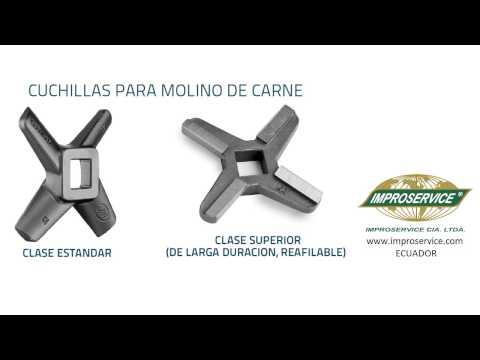~Cuchillas para molino de carne - ECUADOR