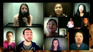 [Pentatonix] Run to You - Virtual Choir Friends