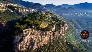 The beautiful Villa Cimbrone in Ravello
