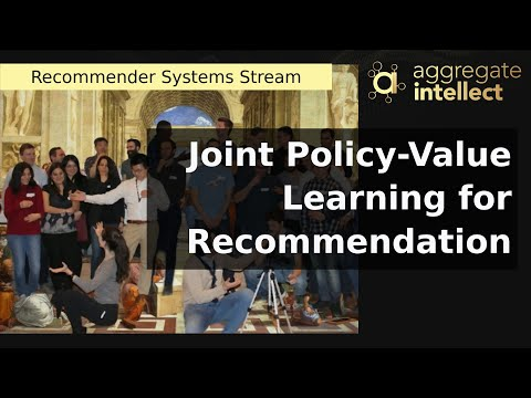 Joint Policy-Value Learning for Recommendation