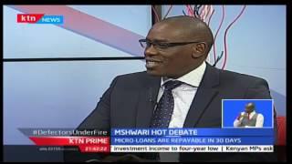 Debate over M-shwari rates, KTN Prime 9/20/2016