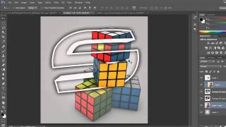 How to Make a 3D Clan Logo AVI/Avatar Pop Out In Photoshop