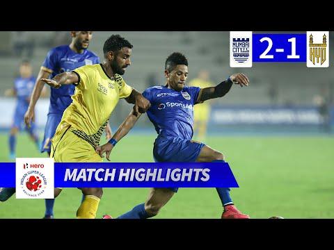 Мумбаи Сити - Hyderabad 2:1. Видеообзор матча 29.12.2019. Видео голов и опасных моментов игры