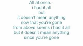 Doesn't Mean Anything - Alicia Keys - Lyrics On Screen